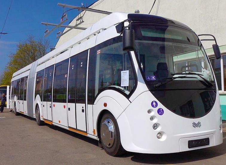 Выполнена защита рамы электробуса